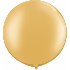 Большой шар золотой