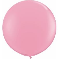 Большой шар розовый