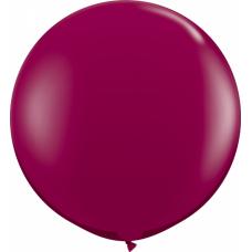 Шар бордовый 95 см