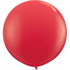 Большой шар красный