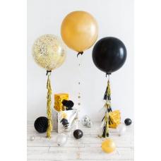 Сет из больших шаров Золотой стиль