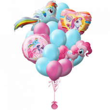 Букет из шаров My Little Pony