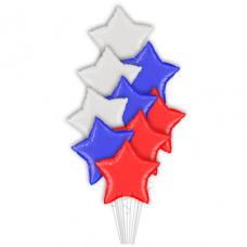 Букет из шаров Триколор