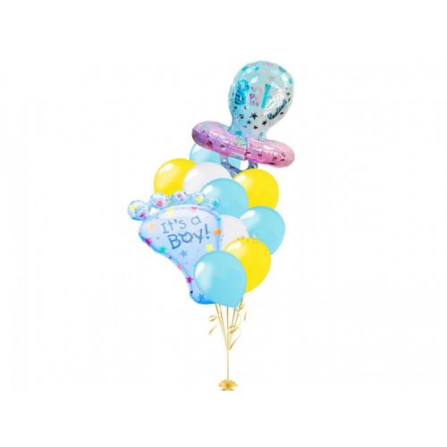 Букет из шаров для мальчика