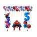 Набор человек паук с цифрой