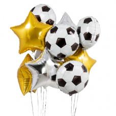 Букет из шаров футбольный мяч