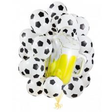 Букет из шаров футбол я люблю тебя