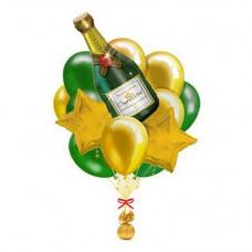 Букет из шаров С новым годом