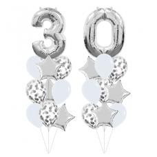 Букеты из шаров на 30 лет