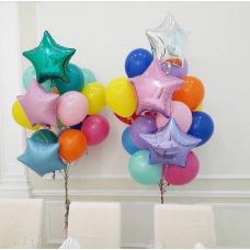 Сет из цветных шаров