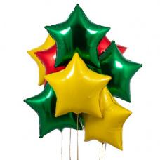 Букет из звезд новый год