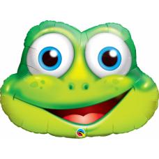 Фольгированный шар Лягушка