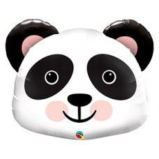 Фольгированный шар Панда голова