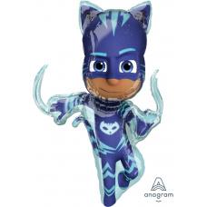 Фольгированный шар Герои в масках Кэтбой