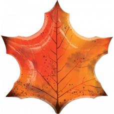 Фольгированный шар Осенний лист