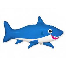 Фольгированный шар Акула