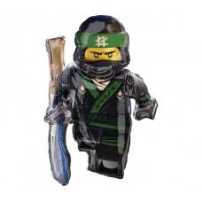 Фольгированный шар Лего ниндзяго