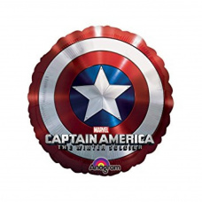 Фольгированный шар Щит капитан Америка