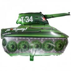 Фольгированный шар танк Т - 34