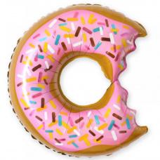 Фольгированный шар Надкусанный Пончик