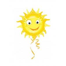 Фольгированный шар Солнышко