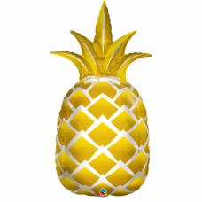 Фольгированный шар Золотой Ананас