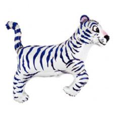 Фольгированный шар Белый тигр