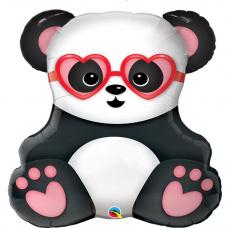 Фольгированный шар Влюбленная Панда