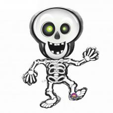 Фольгированный шар Скелет