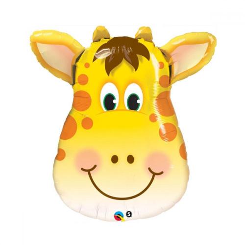 Фольгированный шар Жираф