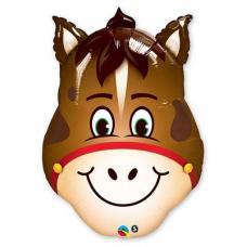 Фольгированный шар Лошадь голова