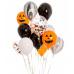 Гелиевые шарики с конфетти на Хеллоуин