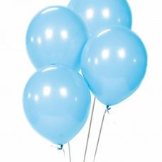 Облако из голубых шаров