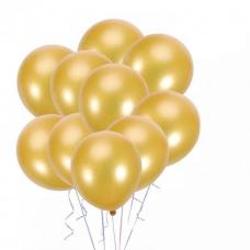Облако из золотых шаров