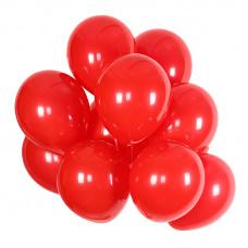 Облако из красных шаров