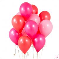Облако из шаров оттенки розового