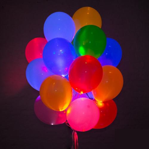 Светящиеся шары ассорти