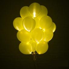 Светящиеся желтые шары