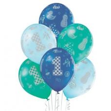 Воздушный шар годик мальчику