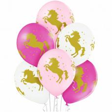 Воздушный шар Единороги