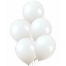 Воздушные белые шары