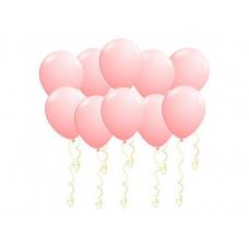 Шары под потолок розовые