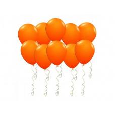 Шары под потолок оранжевые