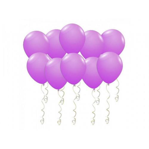 Шары под потолок фиолетовые