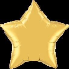 Шар звезда Золото
