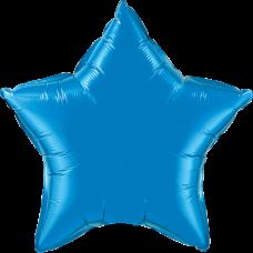Шар звезда синяя