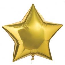 Большая звезда золото