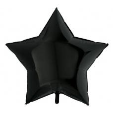 Большая звезда черная