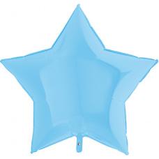 Большая звезда голубая