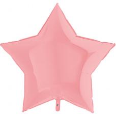 Большая звезда розовая